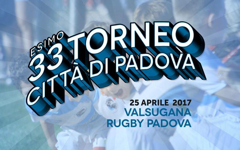 """Tutto pronto per il 33° Torneo """"Città di Padova"""""""