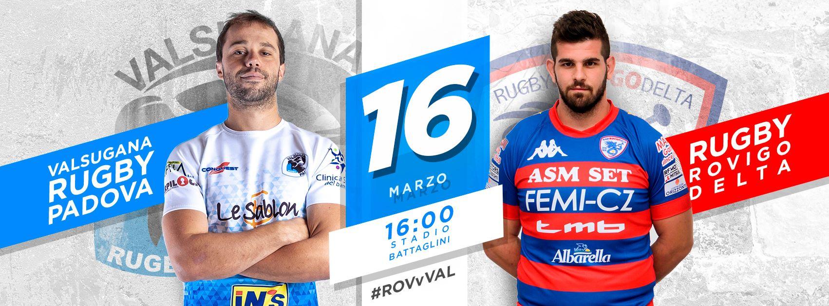 XVIII partita di Top12, FEMI-CZ Rovigo Delta vs. Valsugana Rugby Padova
