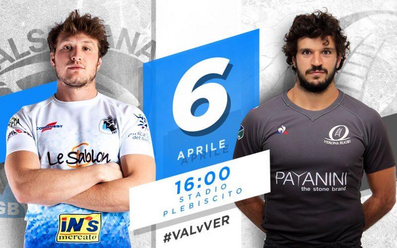 XX partita di Top12, Valsugana Rugby Padova vs. Verona Rugby