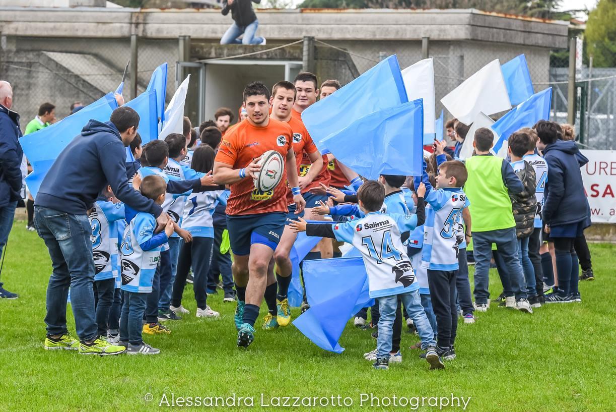 """TOP12 : """"In campo con voi scende il futuro del Valsugana Rugby"""""""